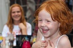 Retrato de un niño redheaded Fotografía de archivo libre de regalías