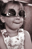 Retrato de un niño tonto Fotos de archivo libres de regalías