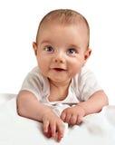 Retrato de un pequeño muchacho Fotos de archivo
