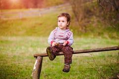 Retrato de un pequeño niño Imagen de archivo libre de regalías