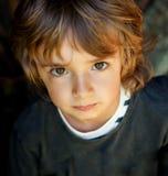 Retrato de un pequeño niño Fotos de archivo libres de regalías