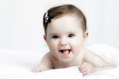 Retrato de un pequeño bebé lindo Fotos de archivo libres de regalías
