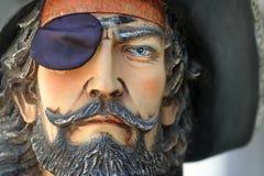 Retrato de un pirata imagenes de archivo