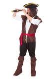 Retrato de un pirata imagen de archivo