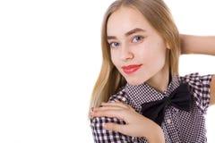 Retrato de un primer adolescente hermoso de la muchacha Imagenes de archivo