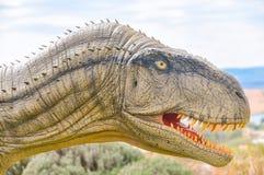 Retrato de un T-Rex Foto macra imagen de archivo libre de regalías