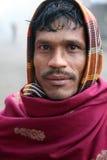 Retrato de un trabajador de día Fotografía de archivo libre de regalías