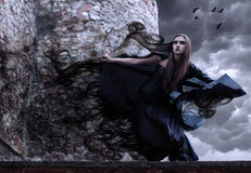 Retrato de una bruja joven.