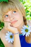 Retrato de una chica joven Imagenes de archivo