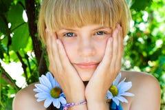 Retrato de una chica joven Foto de archivo libre de regalías