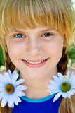 Retrato de una chica joven Imagen de archivo libre de regalías