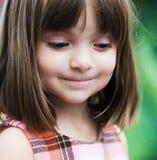 Retrato de una chica joven adorable fotografía de archivo libre de regalías