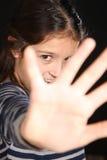 Retrato de una chica joven bonita Fotos de archivo libres de regalías