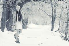 Retrato de una chica joven en invernadero Fotografía de archivo