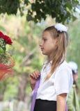 Retrato de una colegiala bonita Foto de archivo libre de regalías