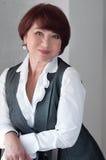 Retrato de una empresaria Imagenes de archivo