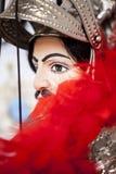 Retrato de una marioneta siciliana Foto de archivo libre de regalías