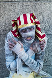 Retrato de una momia imagen de archivo libre de regalías