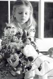 Retrato de una muchacha Foto de archivo libre de regalías