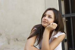 Retrato de una muchacha Imagen de archivo libre de regalías