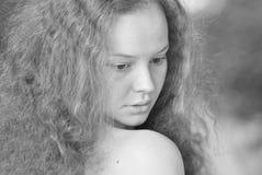 Retrato de una muchacha Foto de archivo