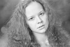 Retrato de una muchacha Imágenes de archivo libres de regalías
