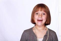 Retrato de una muchacha imagen de archivo