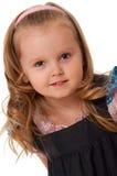 Retrato de una muchacha 4 años Imagenes de archivo