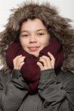 Retrato de una muchacha adolescente en estudio Imágenes de archivo libres de regalías