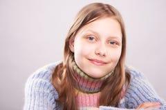 Retrato de una muchacha adolescente linda Fotografía de archivo libre de regalías