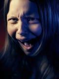Retrato de una muchacha adolescente psica Imagen de archivo