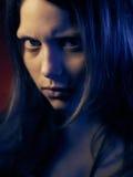 Retrato de una muchacha adolescente psica Imagen de archivo libre de regalías