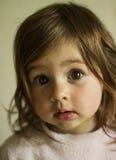 Retrato de una muchacha alegre Imágenes de archivo libres de regalías