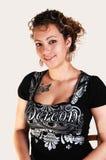 Retrato de una muchacha bonita. imagen de archivo libre de regalías