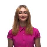 Retrato de una muchacha de 15 años joven en el estudio Imagen de archivo libre de regalías