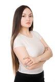 Retrato de una muchacha de Asian de la empresaria Imagenes de archivo