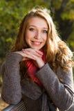 Retrato de una muchacha en un día asoleado Fotografía de archivo libre de regalías