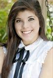 Retrato de una muchacha graduada Fotos de archivo libres de regalías
