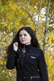 Retrato de una muchacha hermosa Fotos de archivo libres de regalías