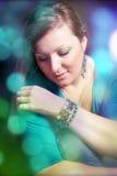 Retrato de una muchacha hermosa Imagen de archivo