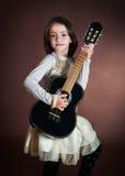 Retrato de una muchacha hermosa Foto de archivo