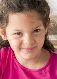 Retrato de una muchacha hermosa fotografía de archivo libre de regalías