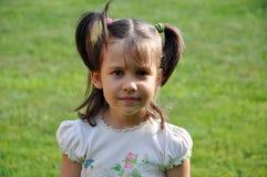 Retrato de una muchacha linda Imagen de archivo libre de regalías