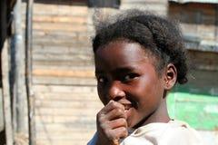 Retrato de una muchacha malgache Imagenes de archivo