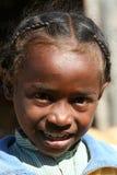 Retrato de una muchacha malgache Imagen de archivo libre de regalías