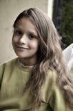 Retrato de una muchacha natural de la belleza imágenes de archivo libres de regalías