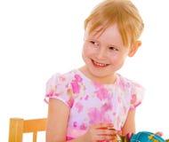 Retrato de una muchacha pelirroja Imagen de archivo