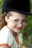 Retrato de una muchacha sonriente Fotos de archivo libres de regalías