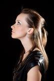 Retrato de una mujer. Foto de archivo libre de regalías