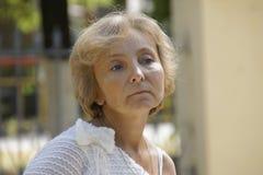 Retrato de una mujer Imagen de archivo libre de regalías